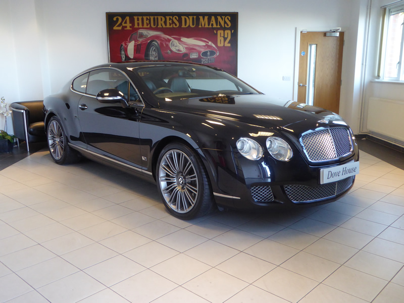 Bentley Continental GT Speed Series 51 6.0 W12 Coupe Auto - Dove ...